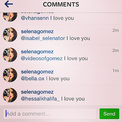 WHEN SHE SHOWED HER FANS SOME SERIOUS LOVE