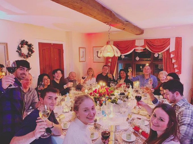 When They Celebrated Christmas with Their Families