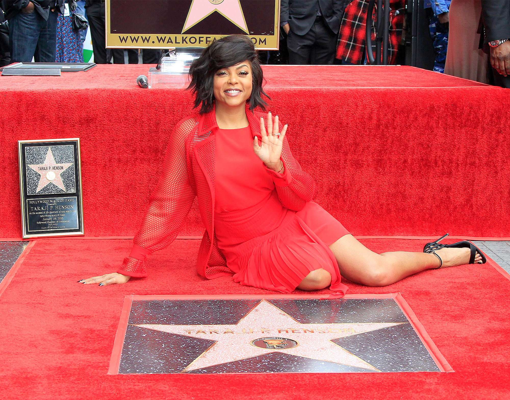 Taraji P. Henson receives a star on the Hollywood Walk of Fame, Los Angeles, USA - 28 Jan 2019
