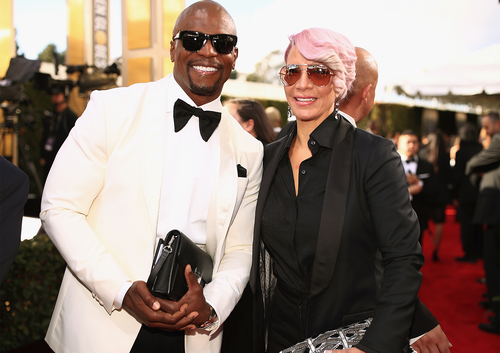TERRY CREWS & REBECCA KING-CREWS