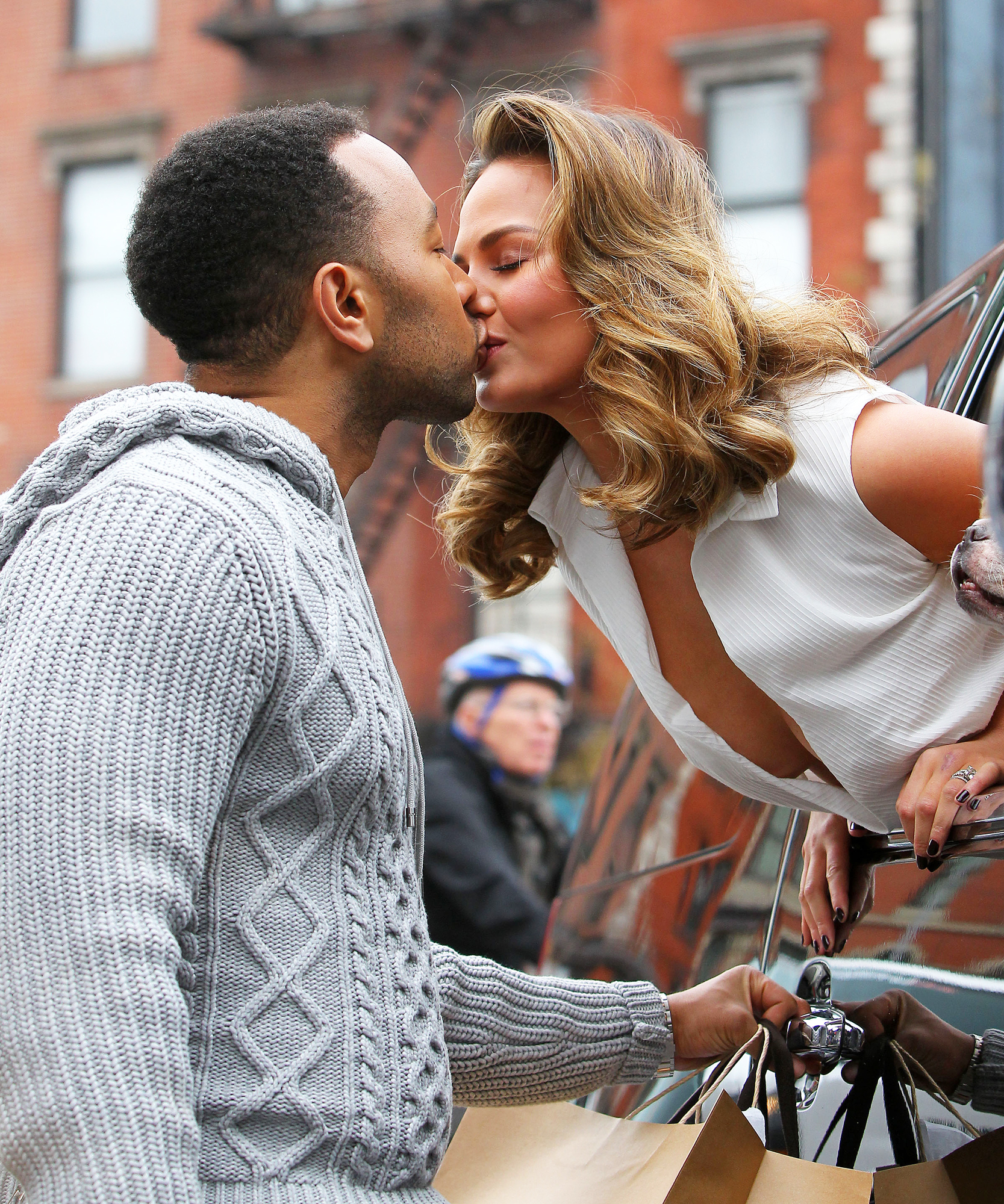 John Legend and Chrissy Teigen spotted taking part in a photo shoot in NYC