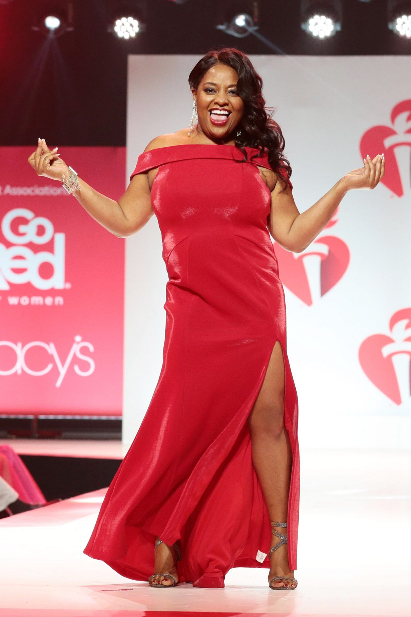 15th Annual American Heart Association's 'Go Red for Women' Red Dress Collection show, Runway, Fall Winter 2019, New York Fashion Week, USA - 07 Feb 2019