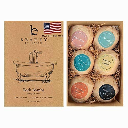 Essential Oil Bath Bombs Set