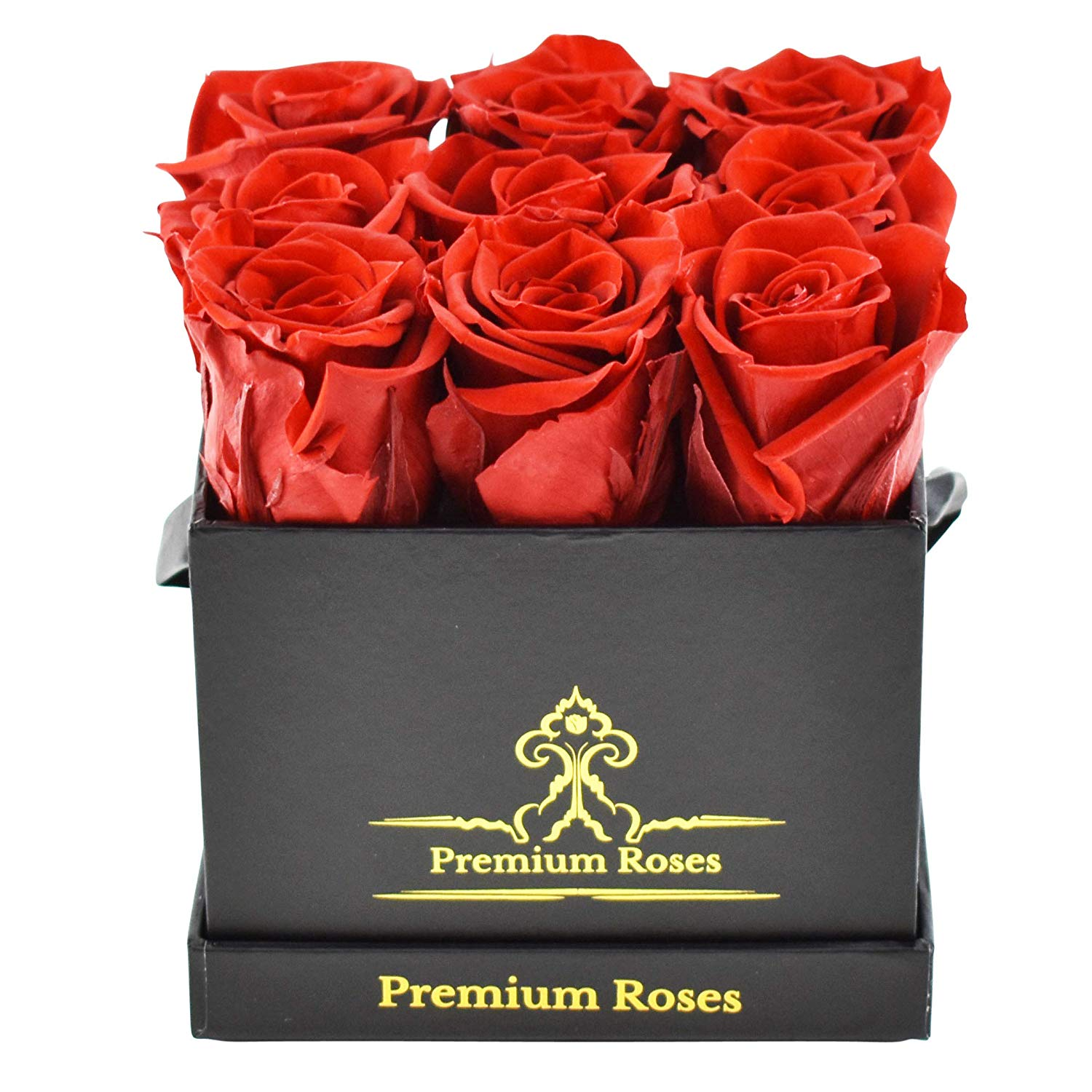 Premium Roses Preserved Roses in a Box Small