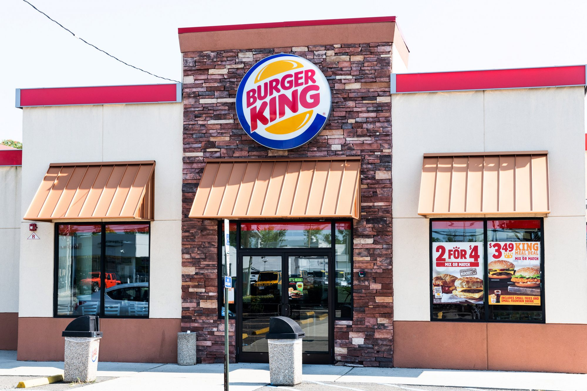 Burger King restaurant in South Hackensack, New Jersey
