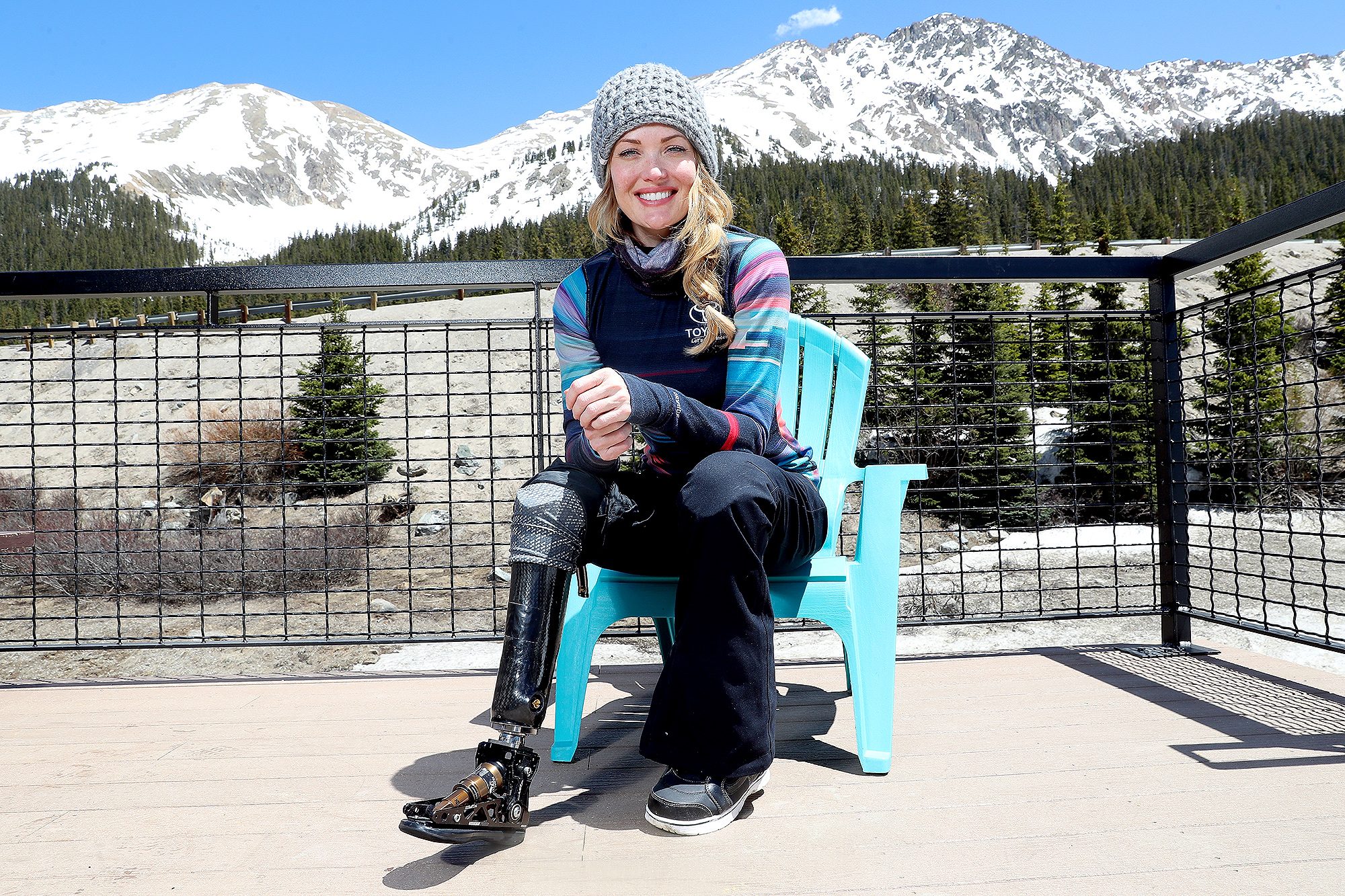 A Day With Amy Purdy