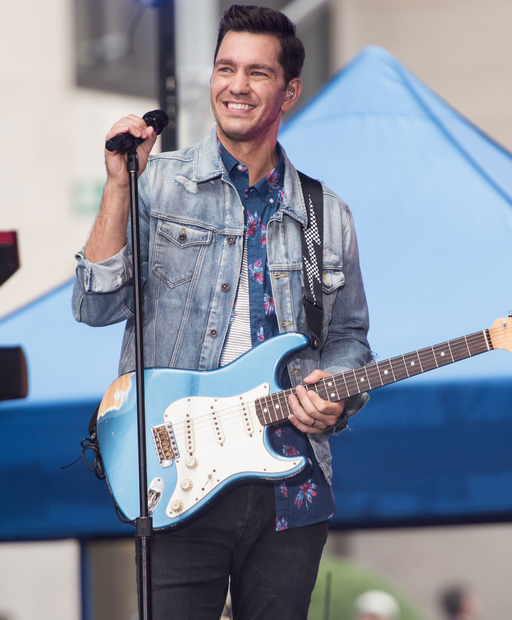"Andy Grammer Performs On NBC's ""Today"""