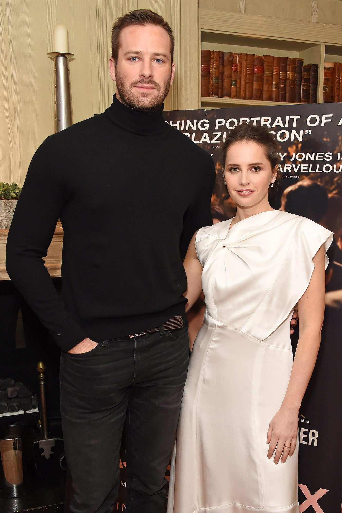 """Felicity Jones And Armie Hammer Attend A Special Screening Of Their New Film """"On The Basis Of Sex"""""""