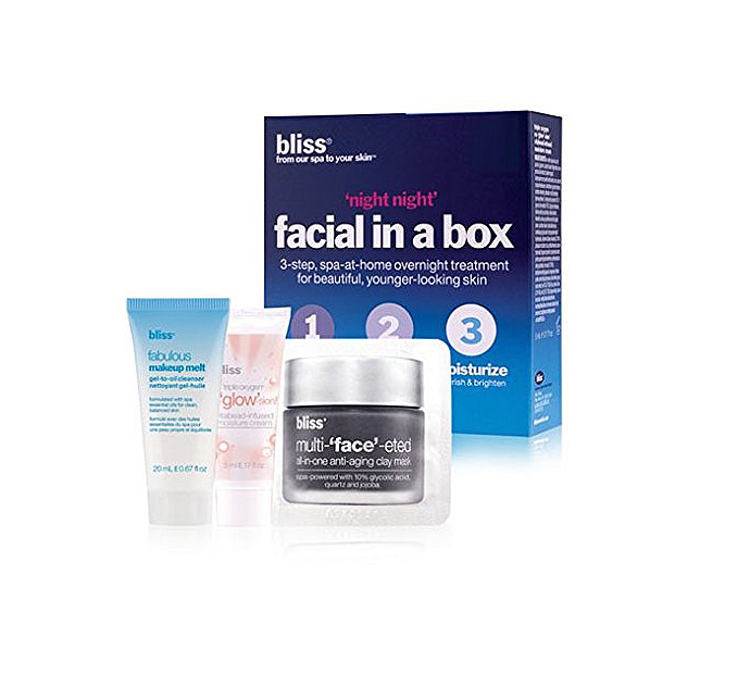 best amazon beauty makeup bliss facial in a box