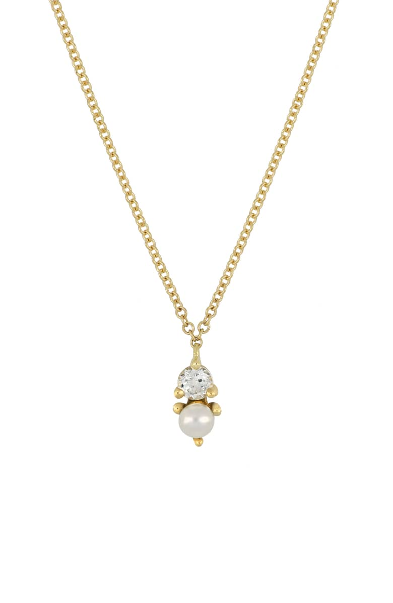 Bony Levy Birthstone Pendant Necklace at Nordstrom