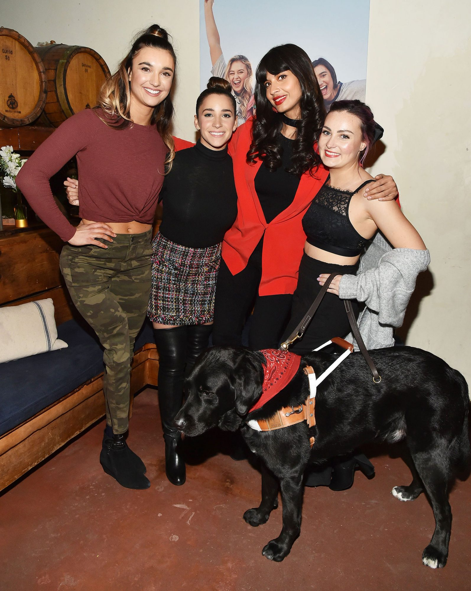 Aerie 'Changing the Course' Dinner, New York, USA - 31 Jan 2019