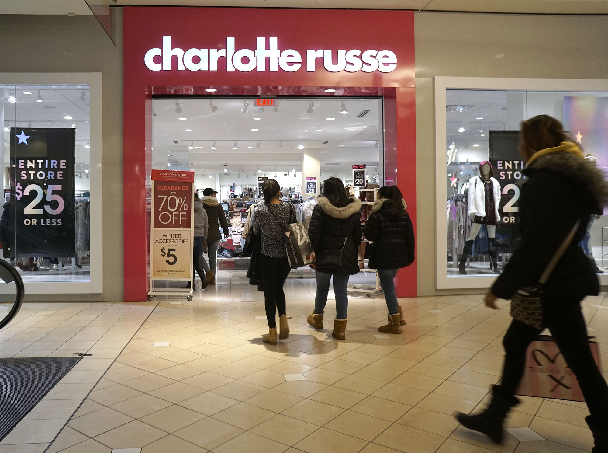 Charlotte Russe files for Chapter 11