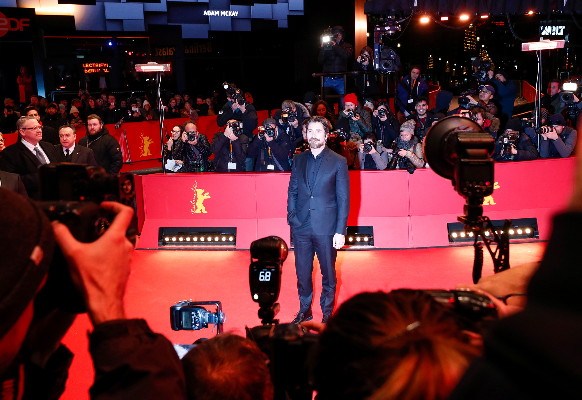 """""""Vice"""" Premiere - Audi At The 69th Berlinale International Film Festival"""