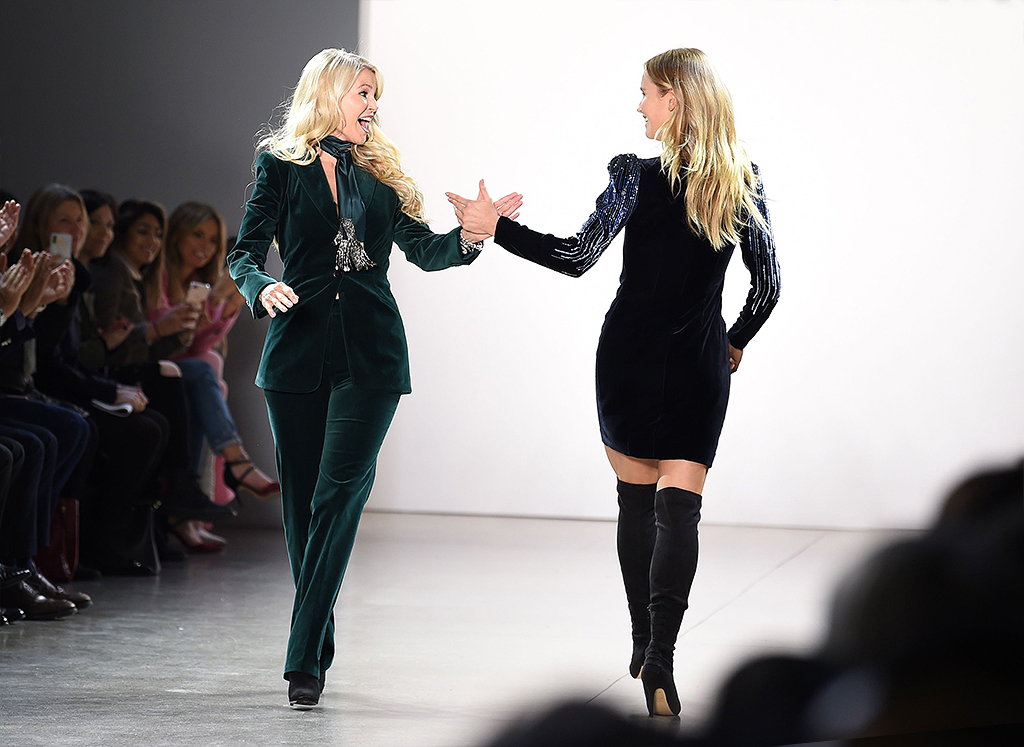Elie Tahari 45th Anniversary show, Runway, Fall Winter 2019, New York Fashion Week, USA - 07 Feb 2019