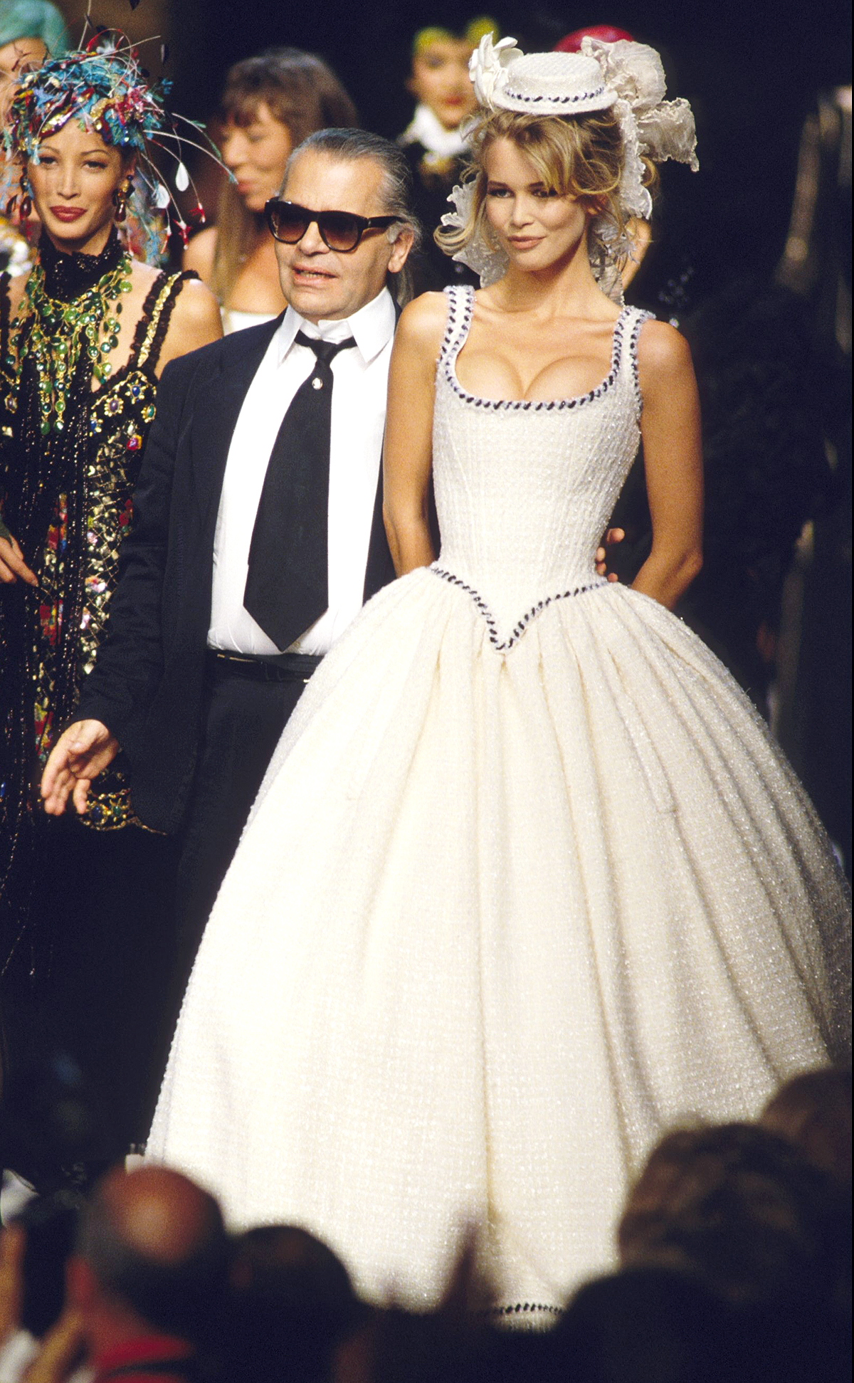 Fashion Haute -Couture Automn -Winter 92/93 In Paris, France In July, 1992.