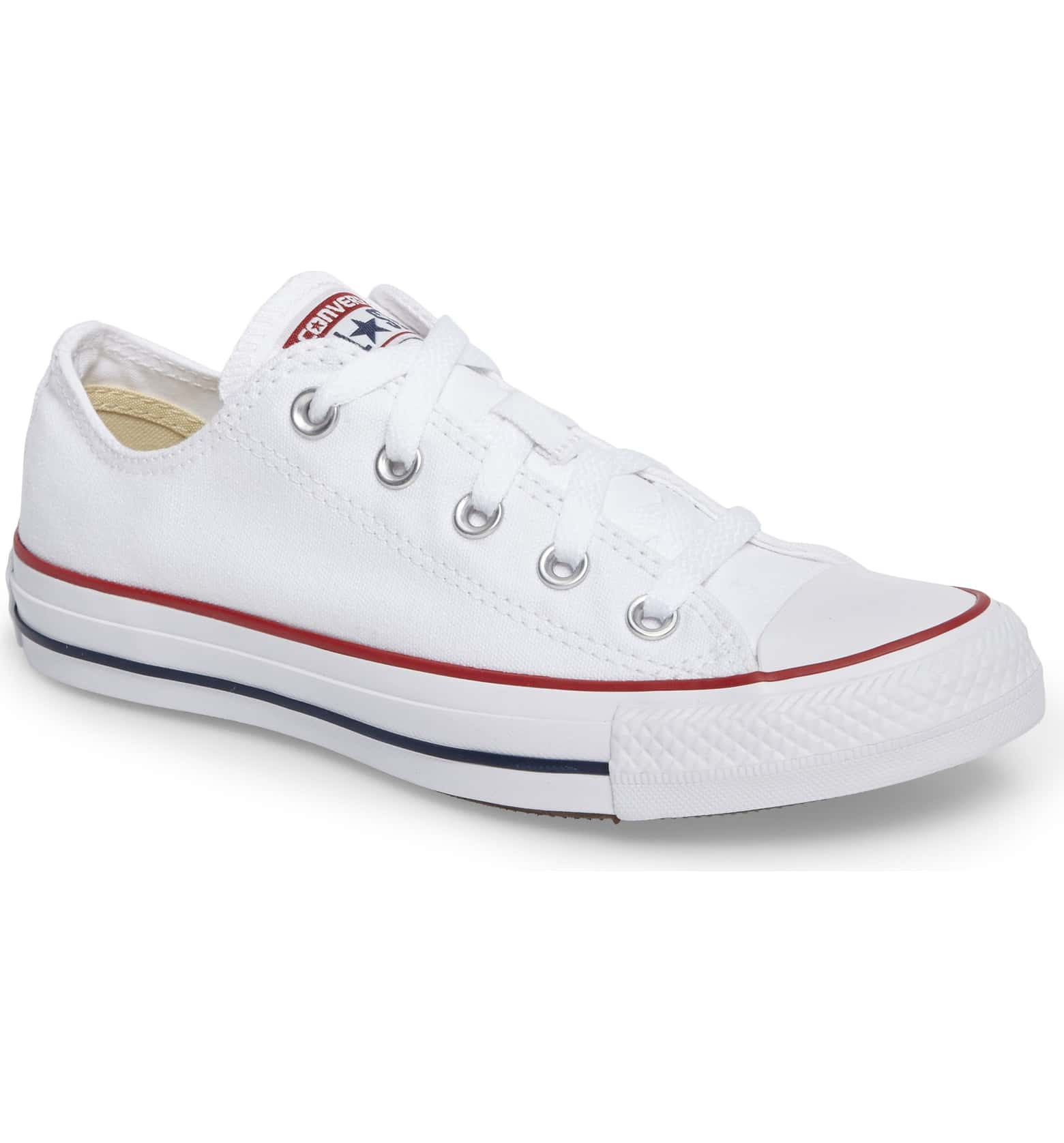 Oscars red carpet shoes: Converse Chuck Taylor Low Top Sneaker