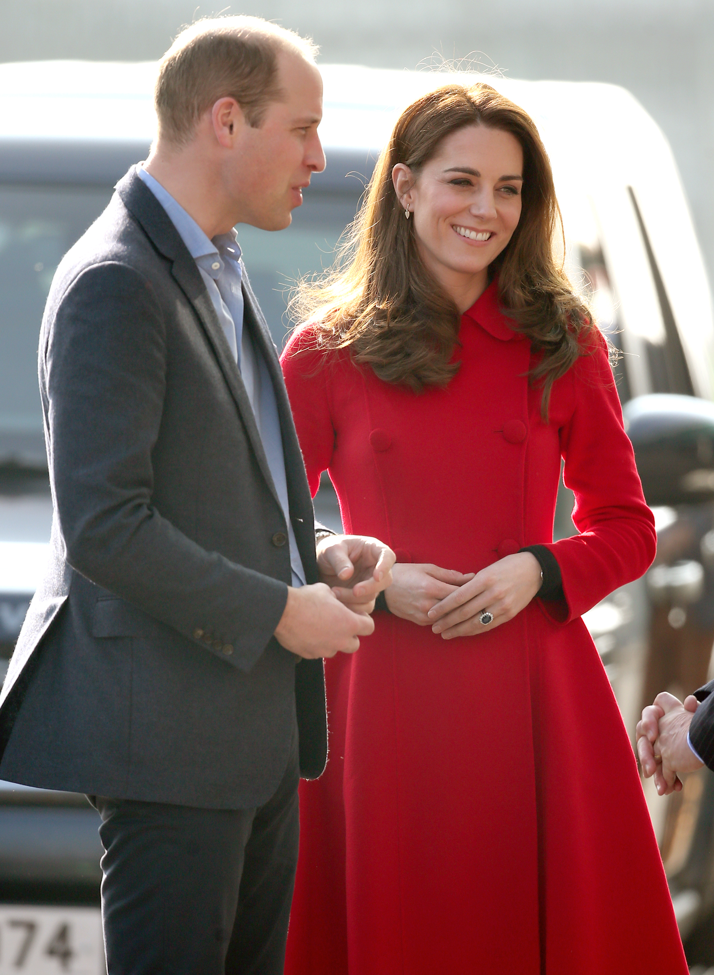 Duke and Duchess of Cambridge visit to NI - Day 1