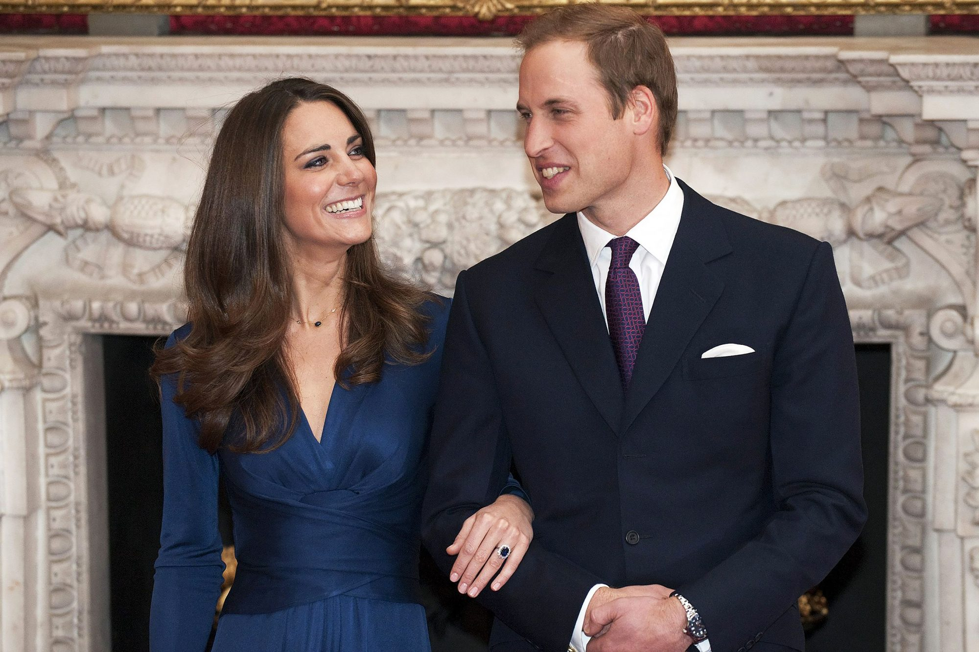 The Engagement of Prince William and Kate Middleton photocall, State Rooms, St James's Palace, London, Britain - 16 Nov 2010