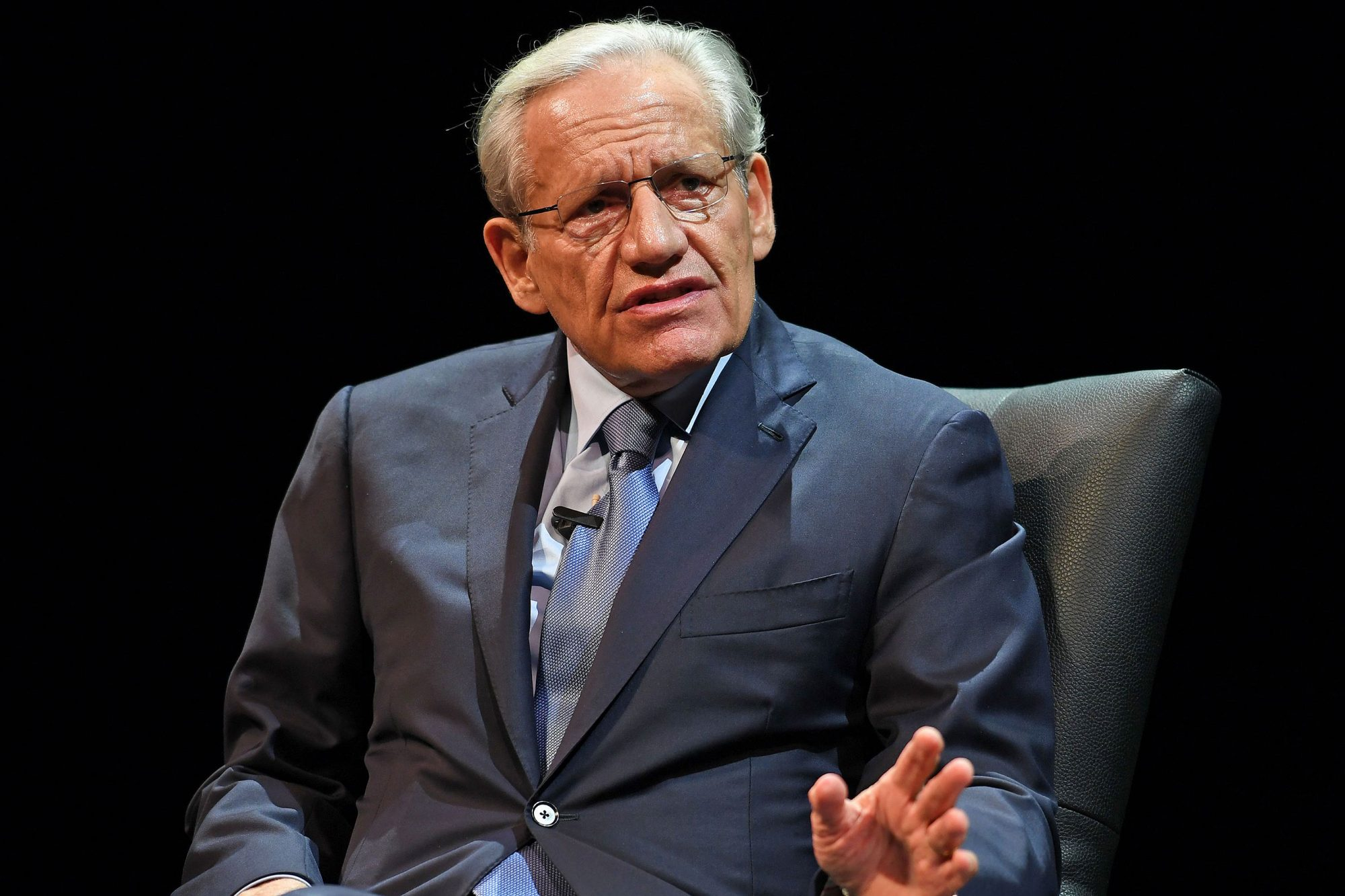 An evening with Bob Woodward discusing his new book 'FEAR Trump in the White House' at Coral Springs Center for the Arts, Coral Springs, Florida, USA - 15 Oct 2018