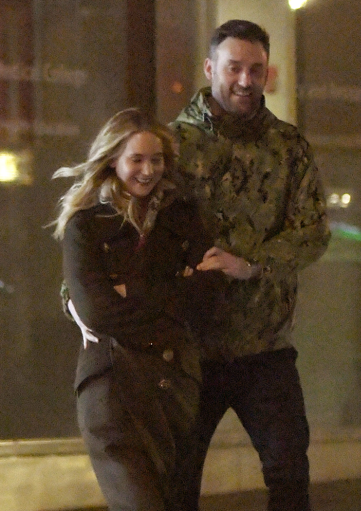 EXCLUSIVE: Jennifer Lawrence All Smiles while taking her beau out for dinner tonight in New York City