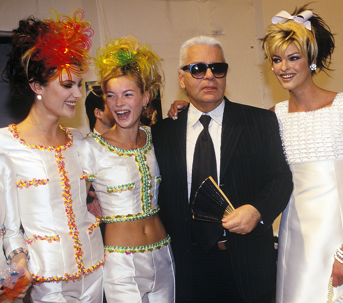 Fashion Ready To Wear Spring-Summer People On October 1st, 1995