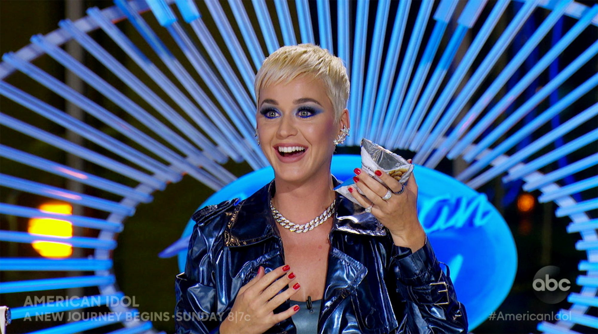 Katy Perry American IdolCredit: ABC