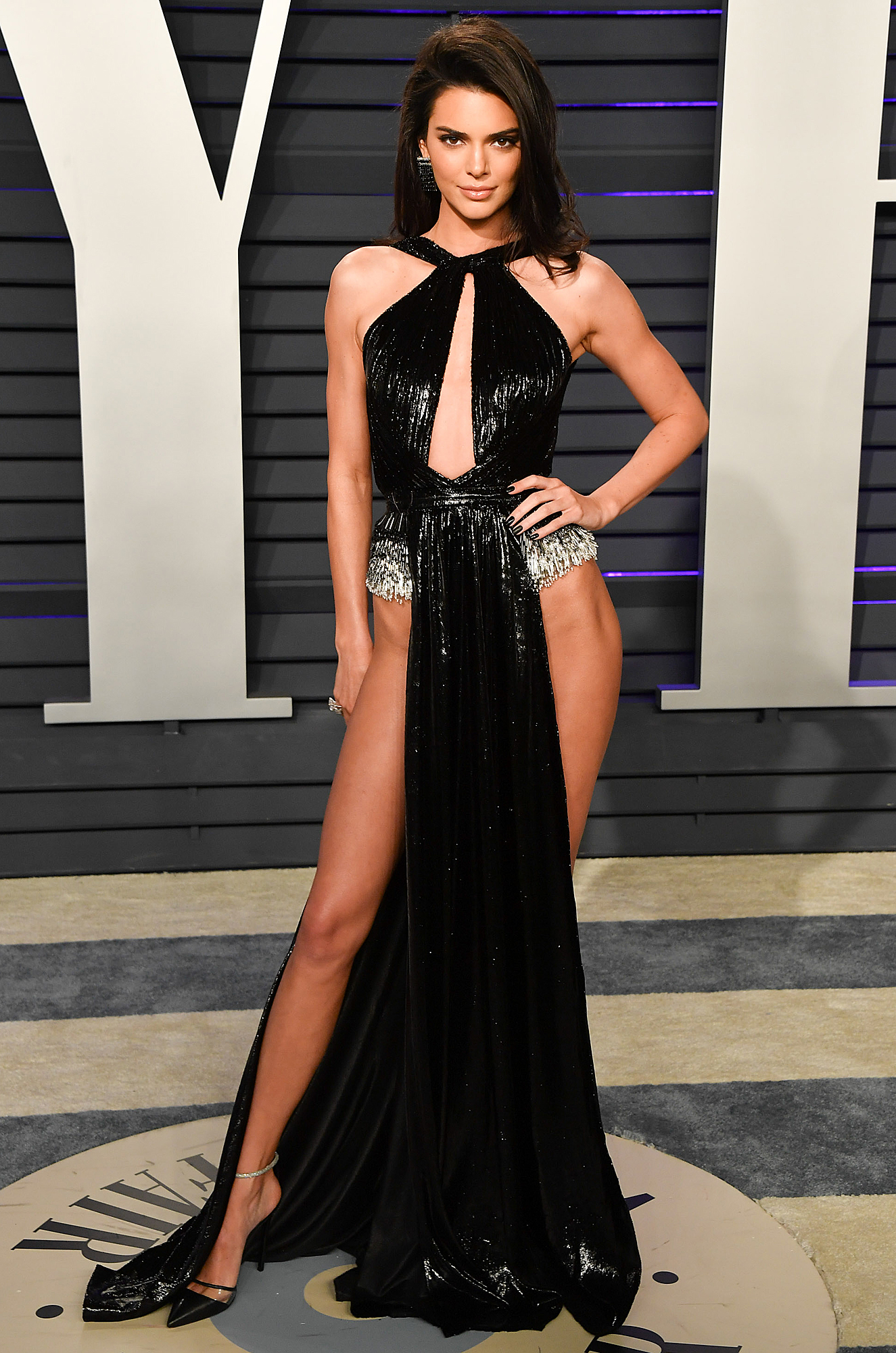 Kendall's Daring Oscars Dress