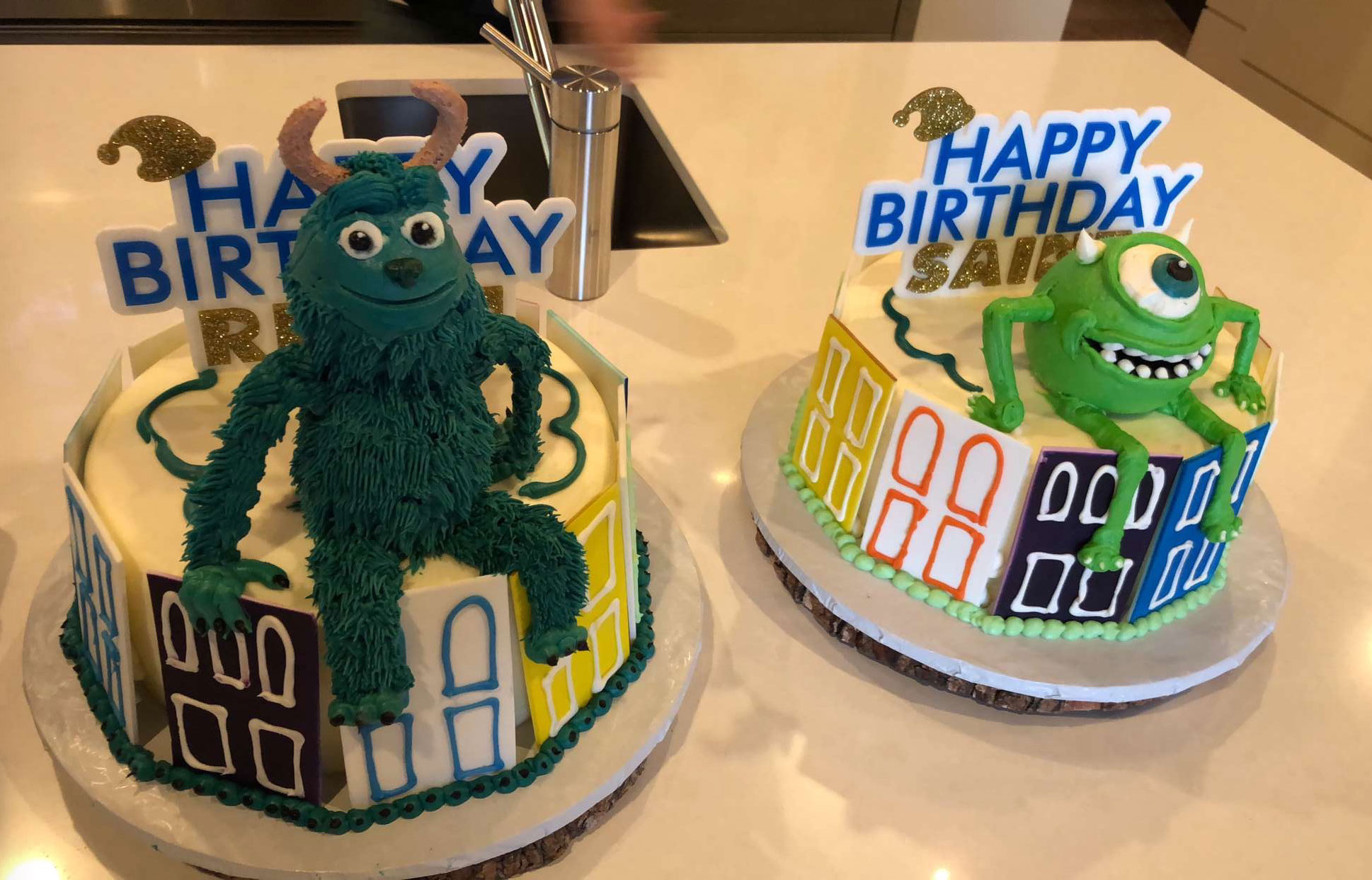 Saint & Reign's Monsters, Inc. Party