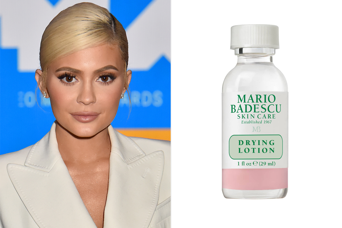 Kylie Jenner and Mario Badescu Drying Lotion for acne from Nordstrom