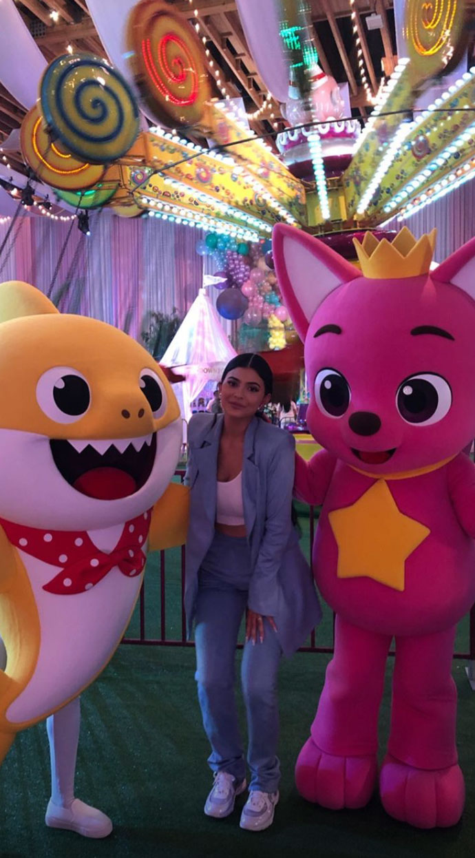 Stormi's Amusement Park-Themed Party