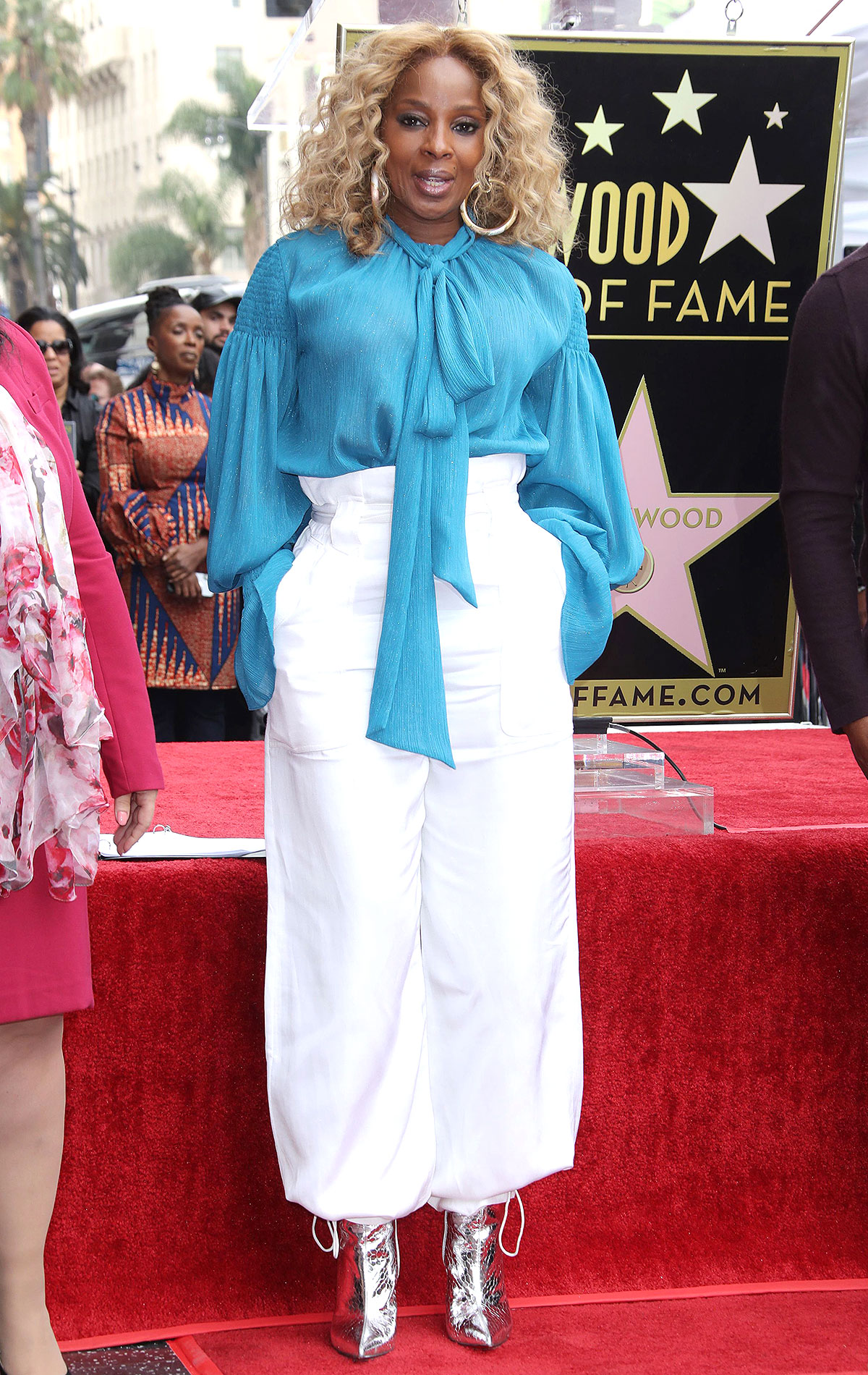 Taraji P. Henson honored with a star on the Hollywood Walk of Fame, Los Angeles, USA - 28 Jan 2019