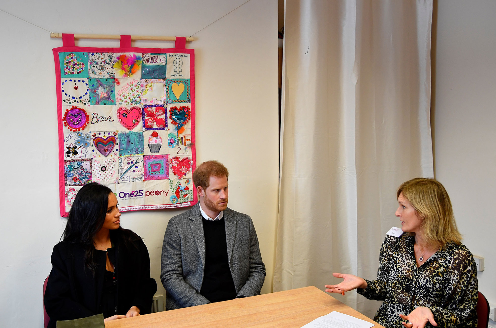 Prince Harry and Meghan Duchess of Sussex visit to One25, Bristol, UK - 01 Feb 2019