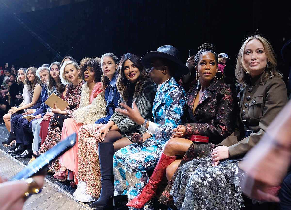 Michael Kors Collection Fall 2019 Runway Show - Front Row