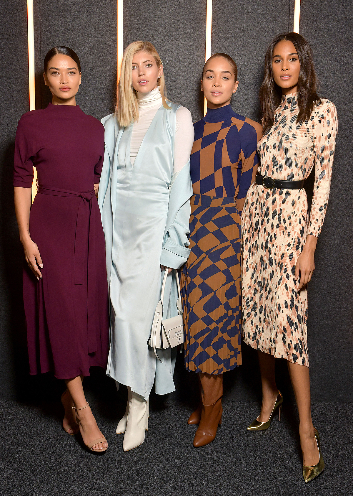 Boss show, Front Row, Fall Winter 2019, New York Fashion Week, USA - 13 Feb 2019
