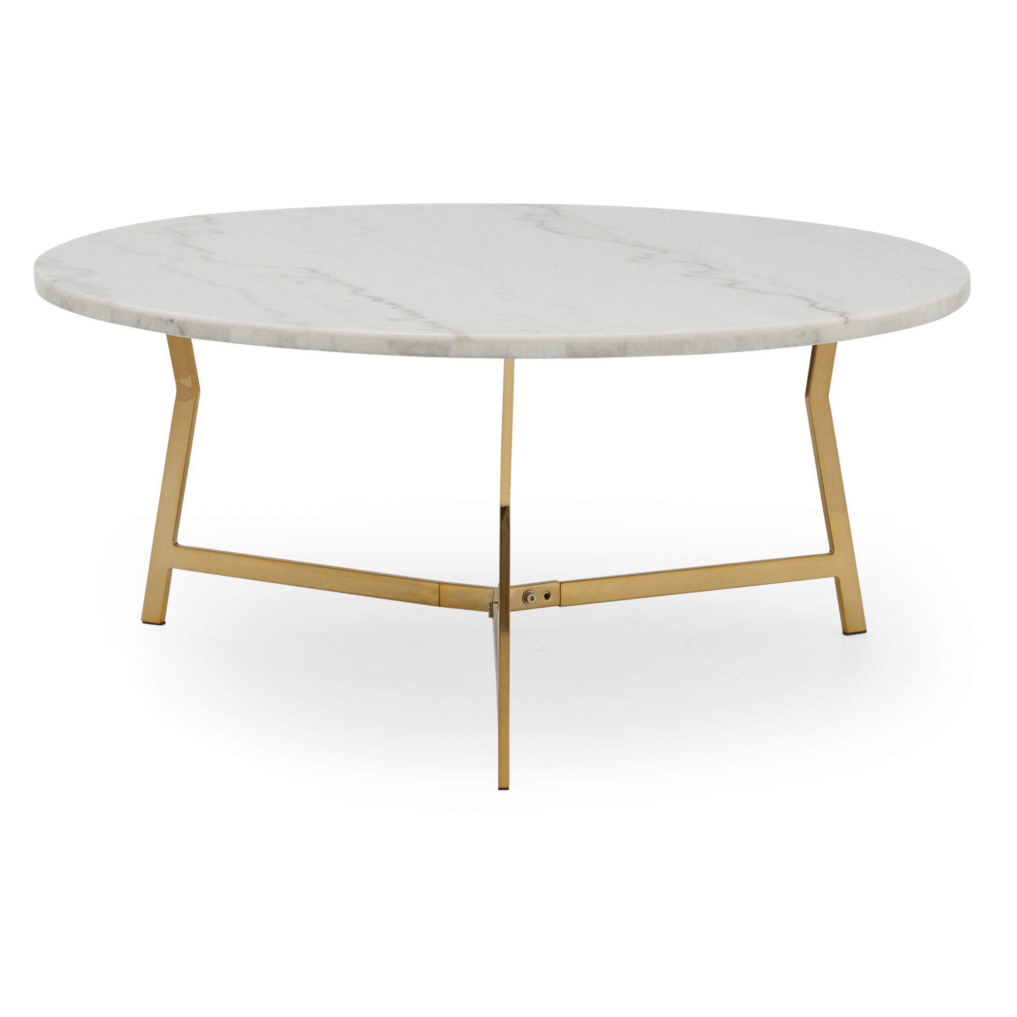 Walmart New Home Collection: MoDRN Glam Lena Geo Base Coffee Table