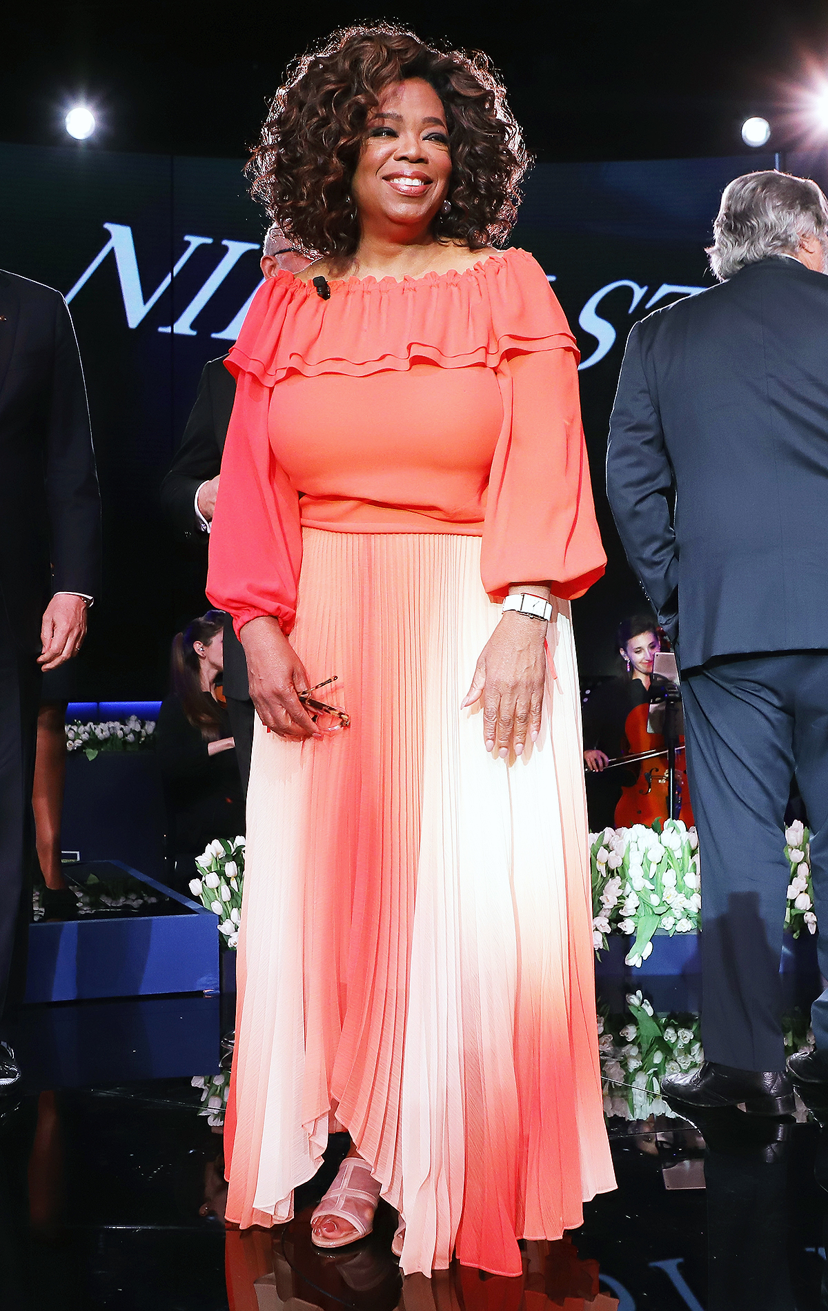 Holland America Line And Nieuw Statendam Dedication With Godmother Oprah Winfrey