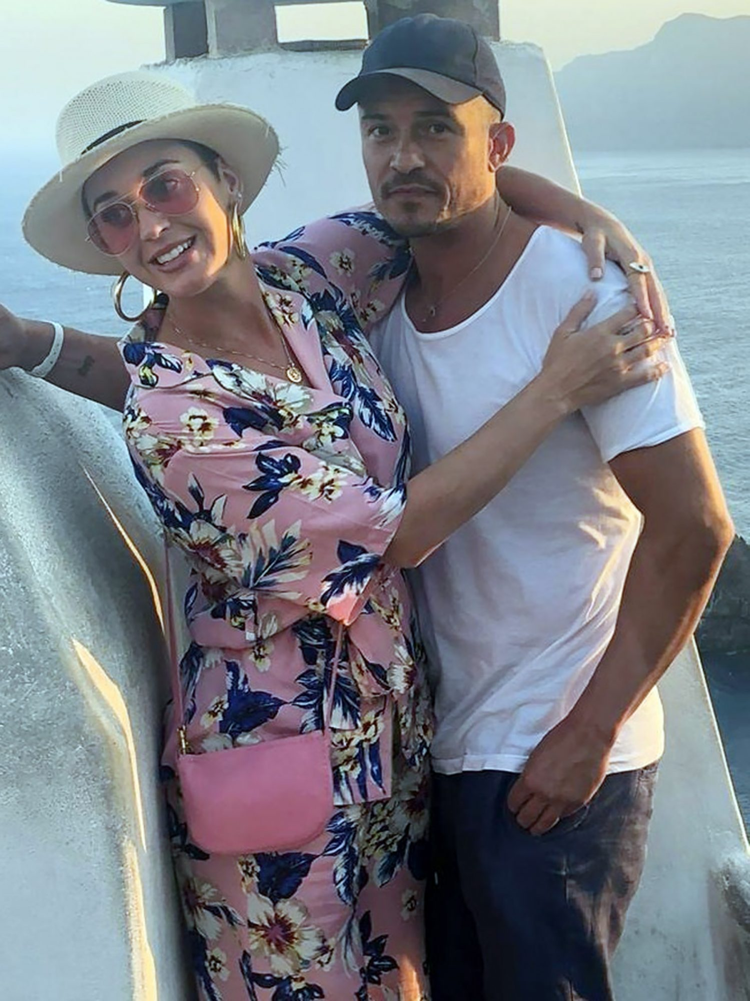 EXCLUSIVE: Orlando Bloom And Katy Perry Enjoy The Views In Greece