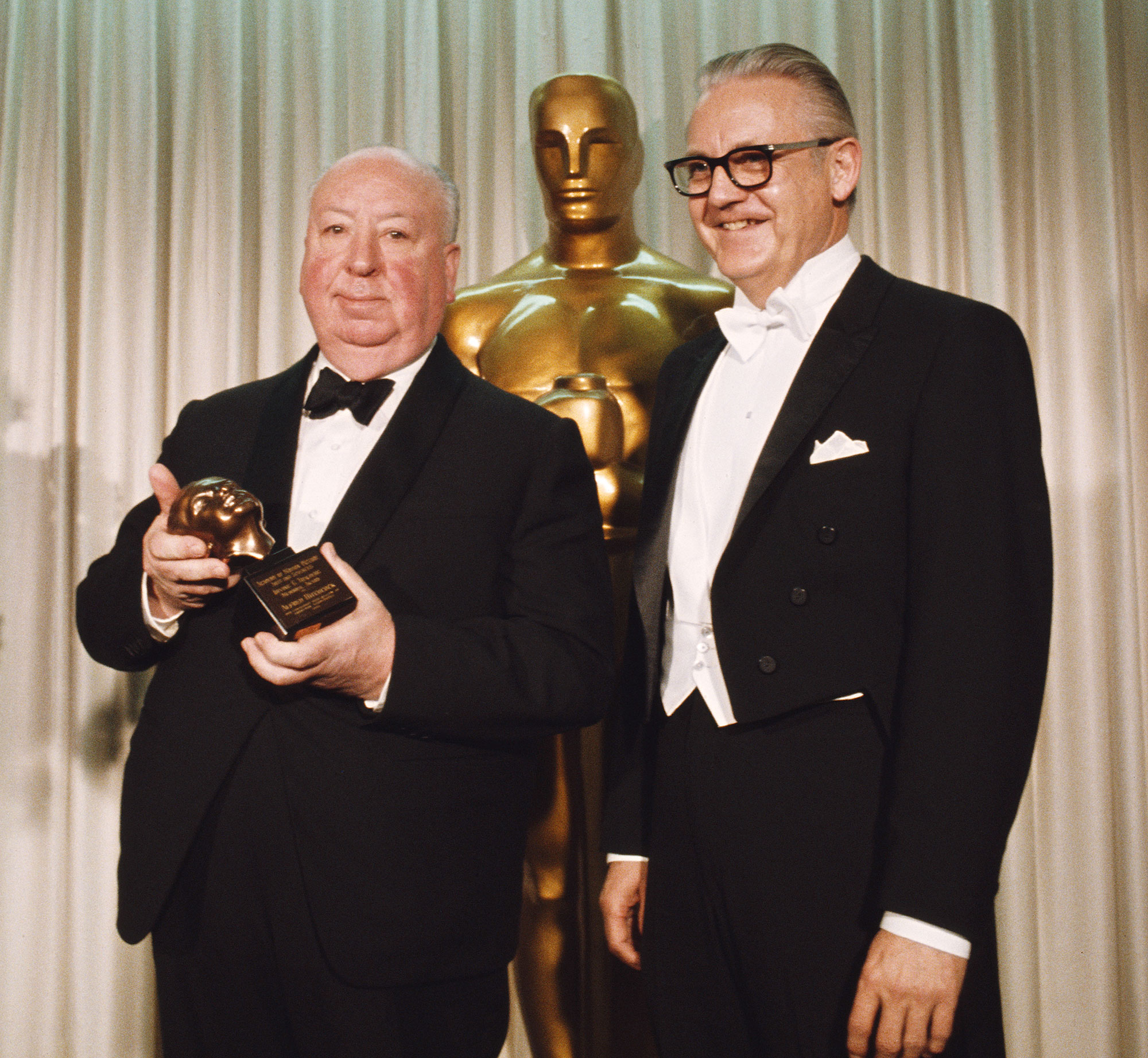 1968: ALFRED HITCHCOCK'S SHORT ACCEPTANCE SPEECH