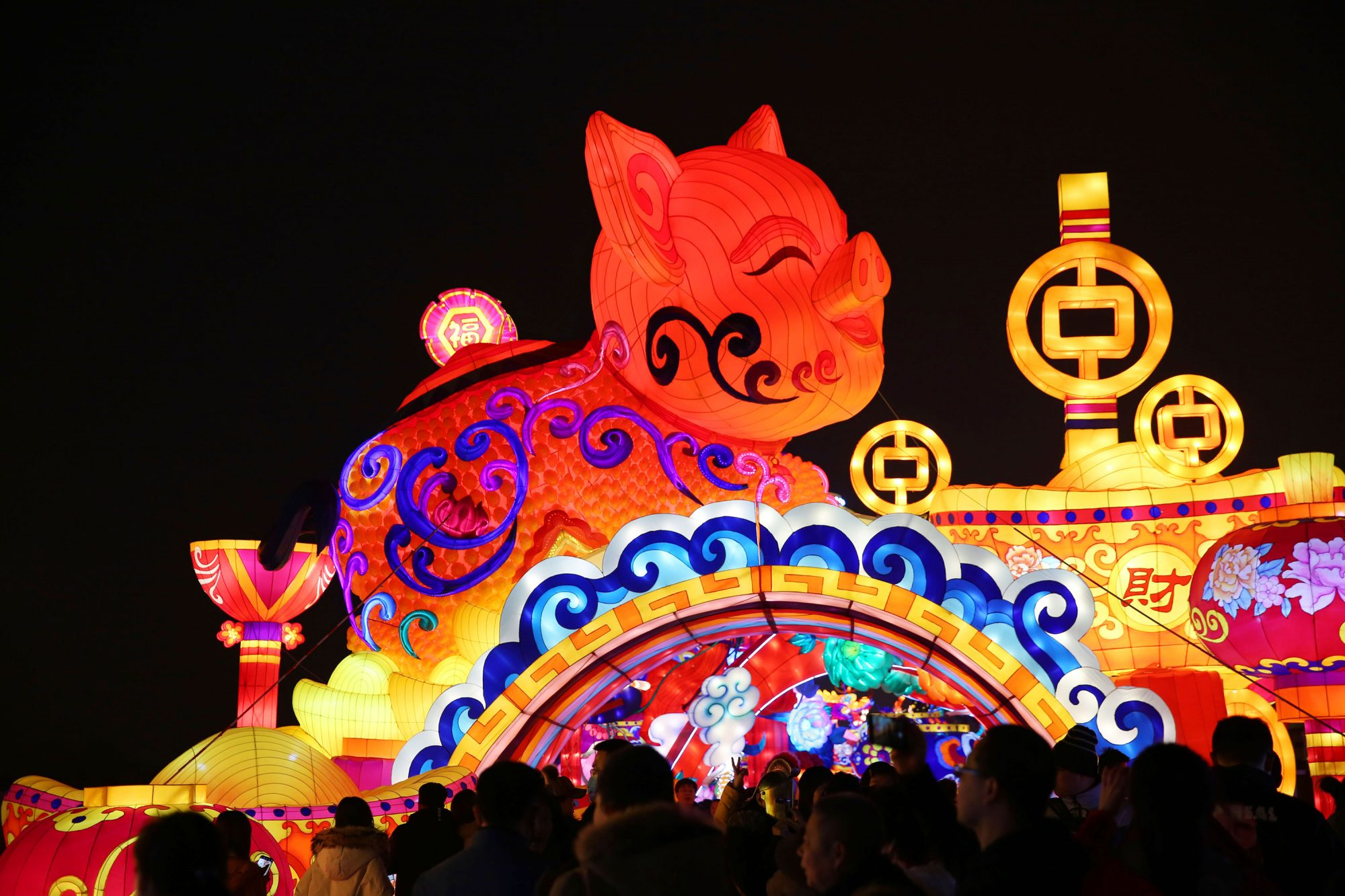 2019 Xi'an City Wall Lantern Festival To Welcome Chinese New Year