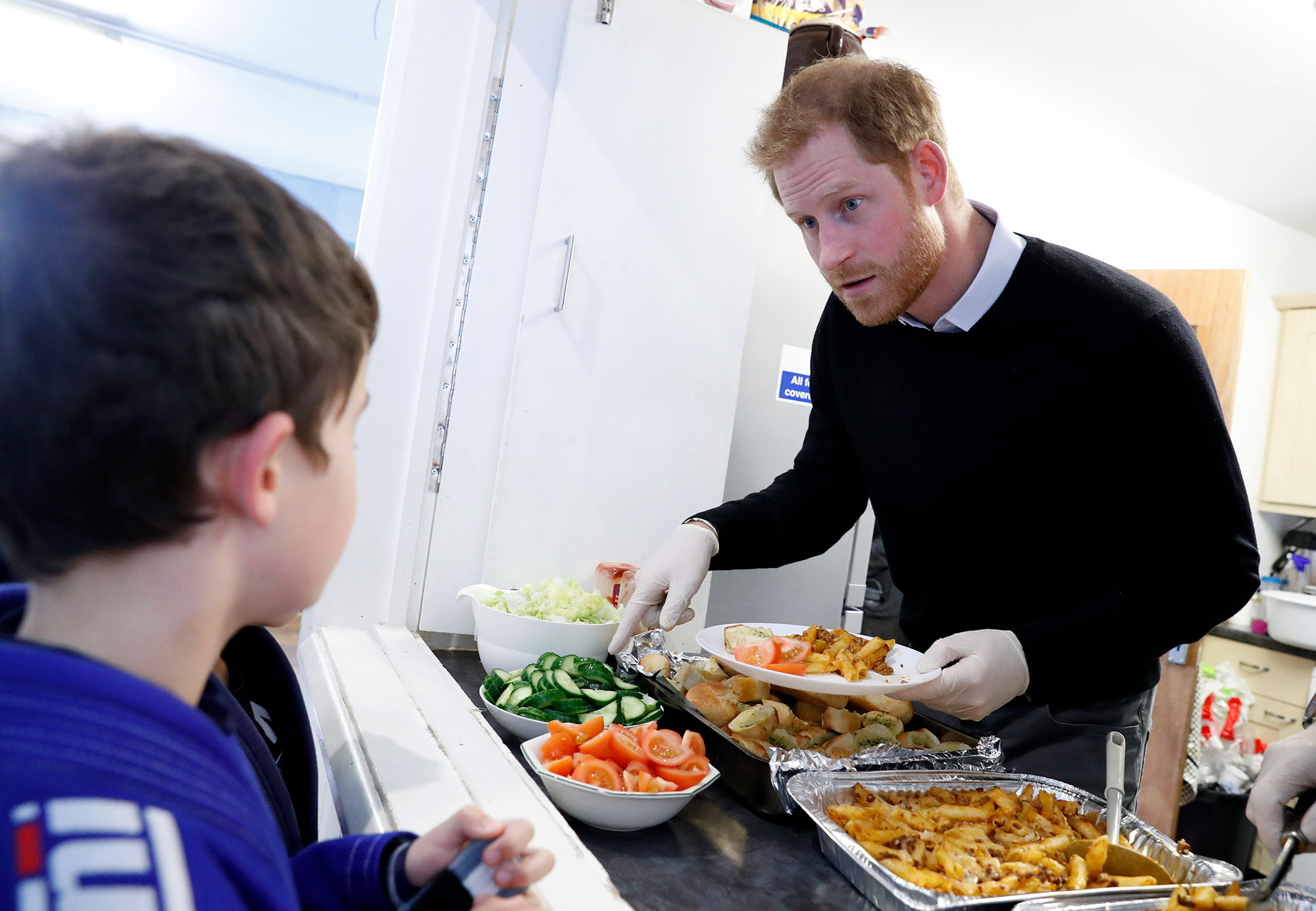 The Duke Of Sussex Visit The 'Fit And Fed' Half-Term Initiative