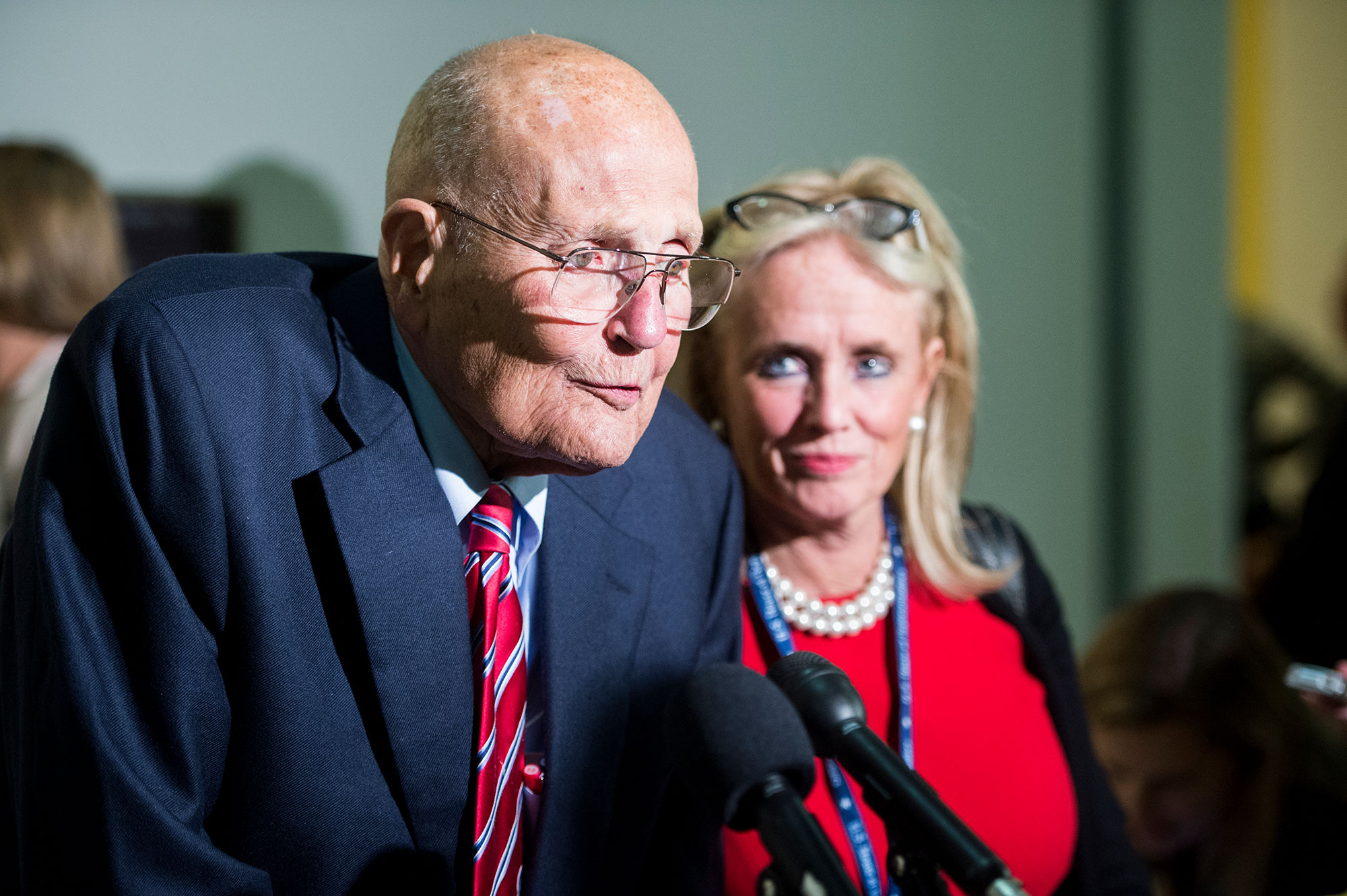 Rep. John Dingell and Rep.-elect Debbie Dingell