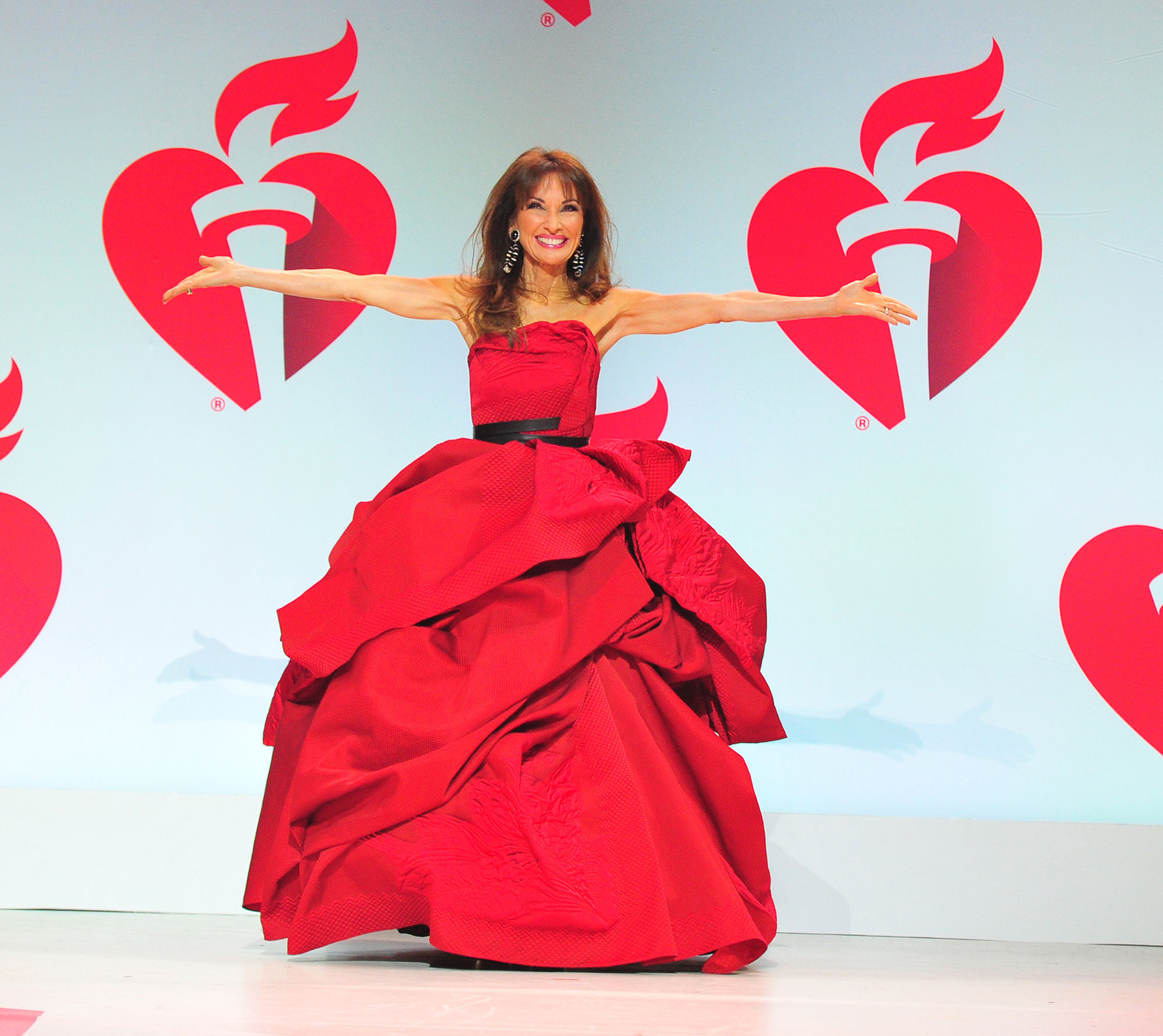 The American Heart Association's Go Red For Women Red Dress Collection 2019