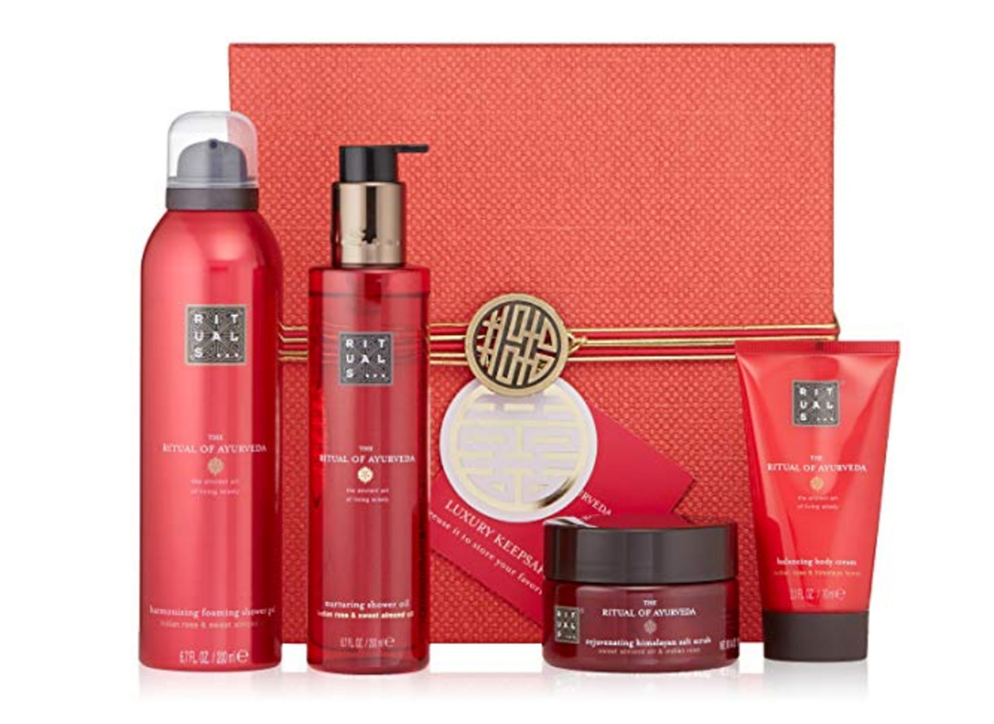 Rituals Indian Rose and Sweet Almond Oil Set