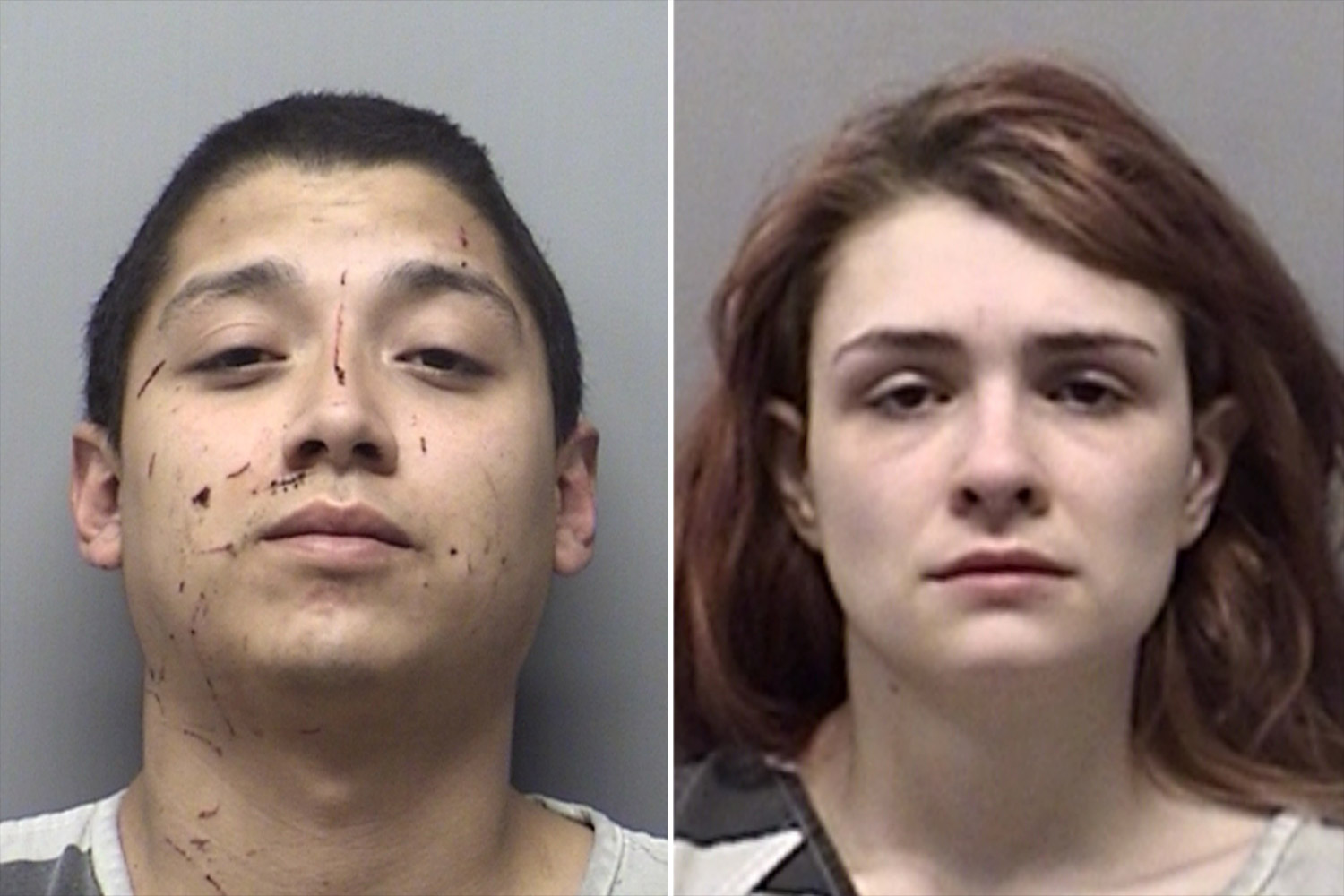 Andrew Fabila and Paige HarkingsCredit: Wise County Sheriff's Office