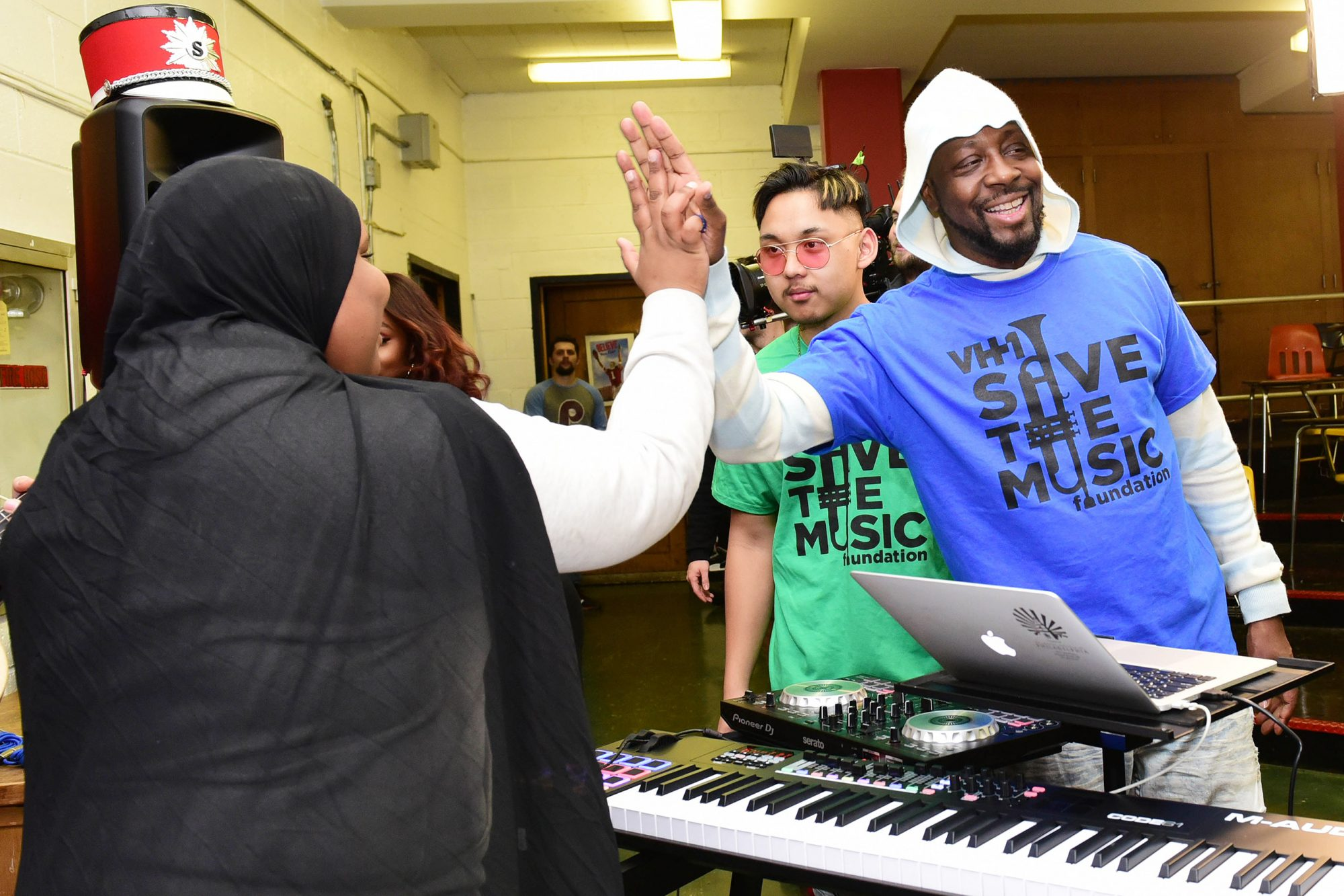 Wyclef Jean Joins VH1 Save The Music Foundation And Toyota