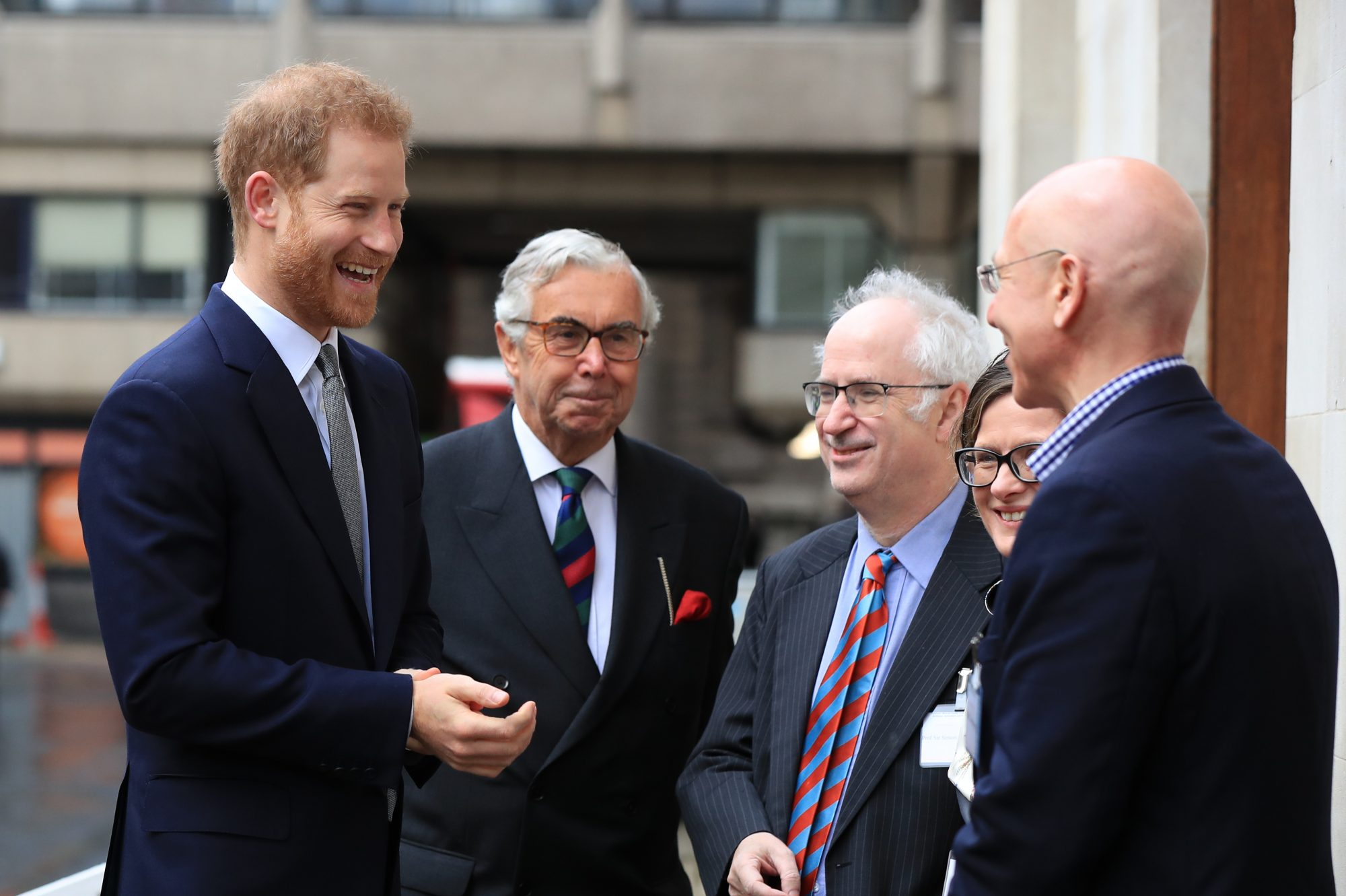 The Duke Of Sussex Attends Veteran's Mental Health Conference