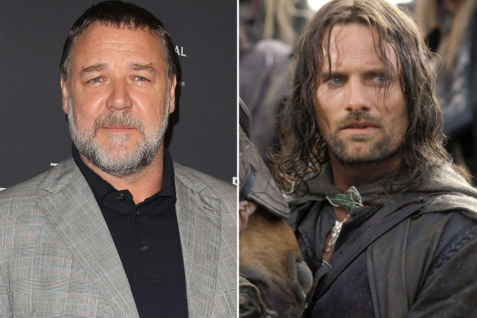 Russell Crowe and Viggo Mortensen ( Lord of the Rings)