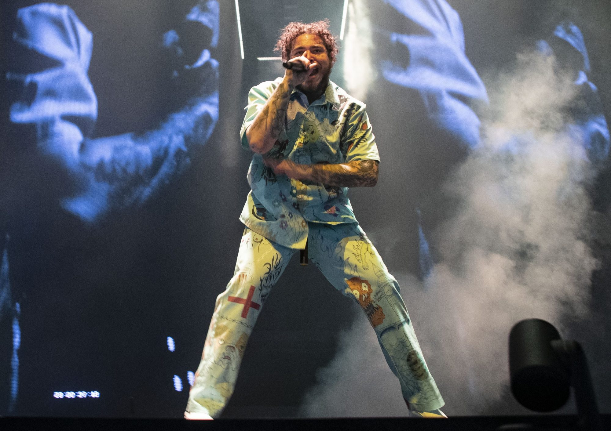Post Malone At The O2 Arena