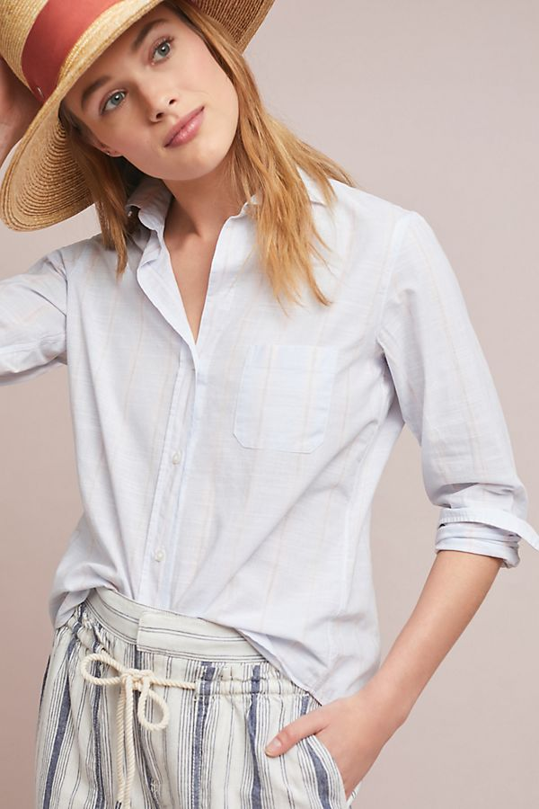 Button down shirt from Grayson at Anthropologie