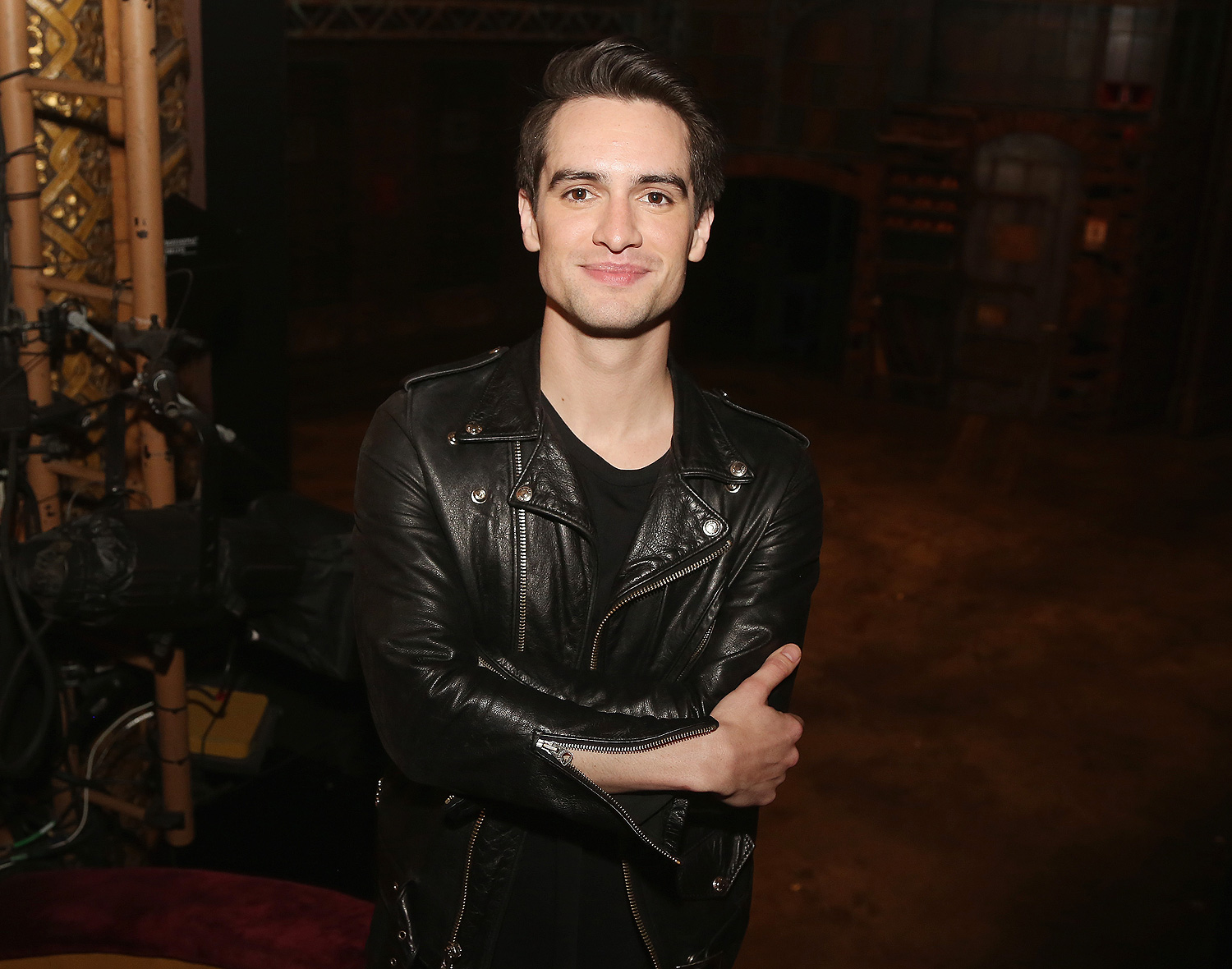 "Brendon Urie Rehearsals For His Broadway Debut In ""Kinky Boots"""